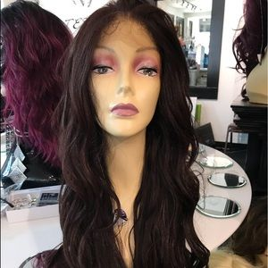 Wig Brown Long 13x6 Freepart Hairloss Sale 2019